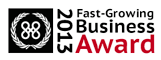 2013 Fast-Growing Business Award